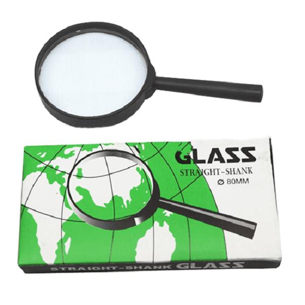 Kính Lúp Glass 80mm. Văn Phòng Phẩm - Nhà Sách Trung Nguyên