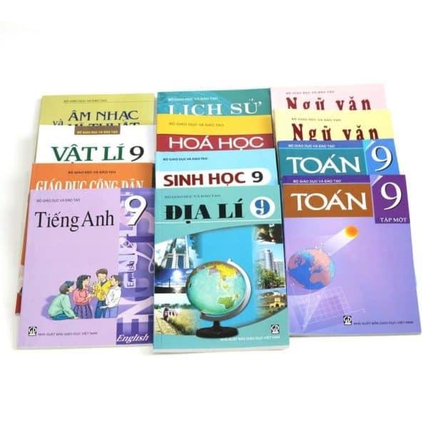 Bộ Sách Giáo Khoa Lớp 9 Bài Học. Văn Phòng Phẩm-Nhà Sách Trung Nguyên